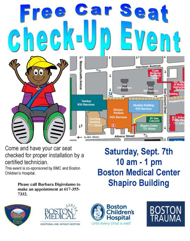 Free Car Seat Check-Up Event!