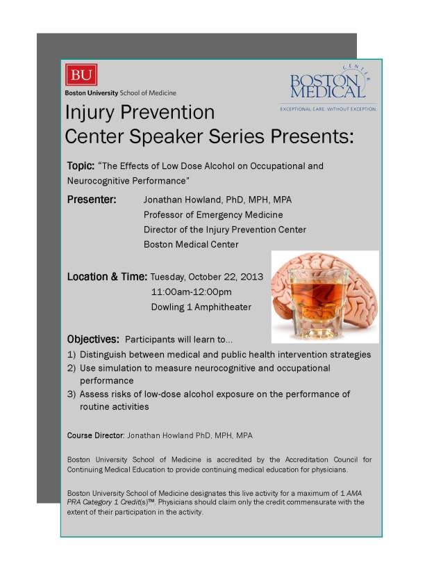 Injury Prevention Center Speaker Series